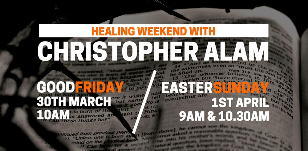Healing weekend with Christopher Alam