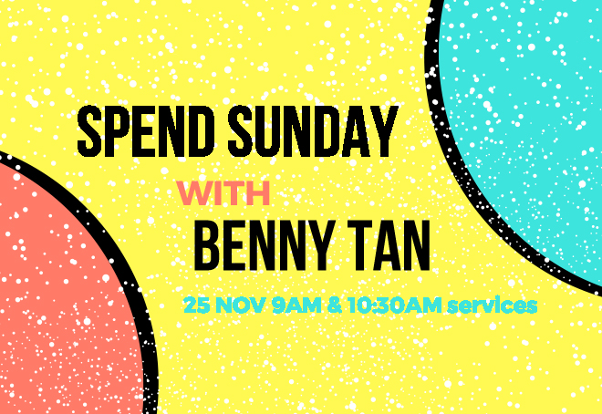 Ps Benny Tan