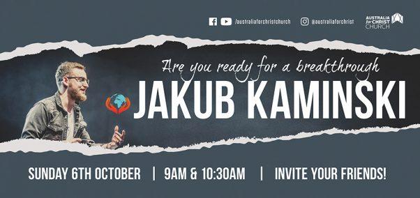 Guest Speaker - Jakub Kaminski