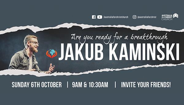 Guest speaker: Jakub Kaminski