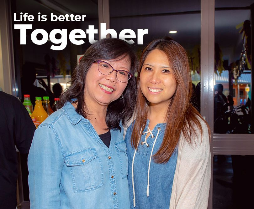Life is better together - join a connect group
